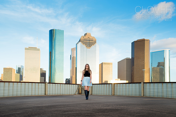 Senior Portraits in Houston